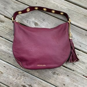 Michael Kors Leather Purse with Grommets